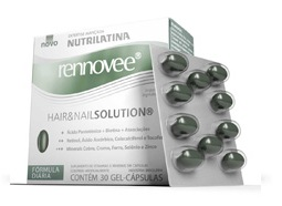 Rennovee Hair Nail Solution 30 Cps