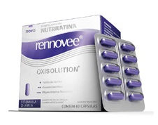Rennovee Oxy Solution 60 Cps