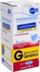Mebendazol 20 Mg Sus C/30 Ml