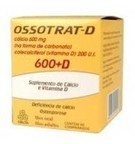 Ossotrat-D 600 Mg + 200ui 60 Cprs