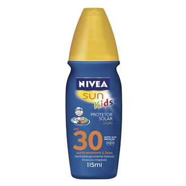 Bronzeador Nivea Fps-30 Kids Spray 115ml