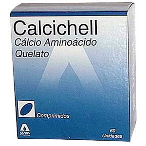 Calcichell 125 Mg 60 Cprs
