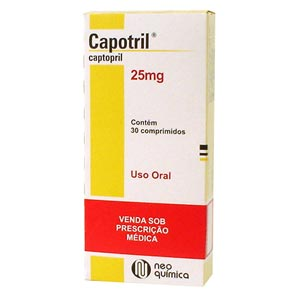 Capotrineo 25 Mg 30 Cprs