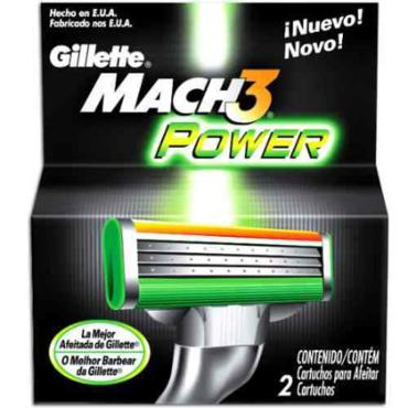 Carga Mach-3 Power 2 Unidades