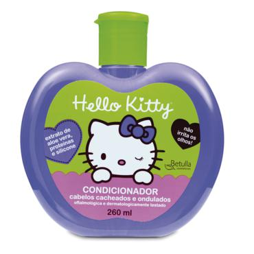 Condicionador Hello Kitty Cach / Ond Aloe Pr 260ml