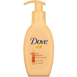 Creme Dove Para Pentear Therapy Frizz 200ml