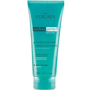 Creme Vizcaya Para Pentear Cachos Perfect 200ml