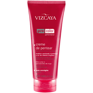 Creme Vizcaya Para Pentear Pro Color 200ml