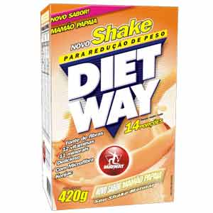 Diet Way Shake Sabor Mamao Papaia 420g