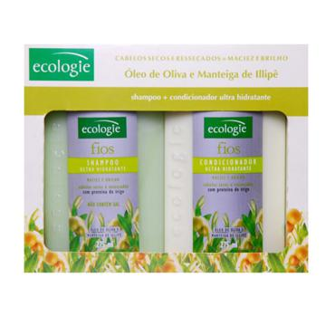 Kit Ecologie Shampoo Uso Frequente 275ml + Gel