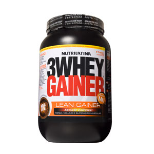 Mega Gym 3whey Gainer Morango