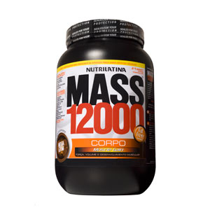 Mega Gym Mass 12000 Chocolate