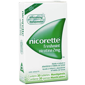Nicorette 2 Mg Fresh Mint 30 Gomas