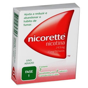 Nicorette Fase 1 - 24,9 Mg 7 Env Ads