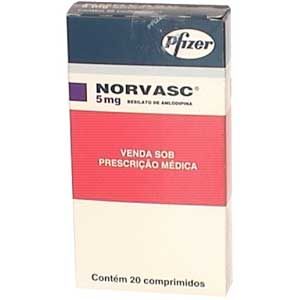Norvasc 5 Mg 20 Cprs