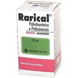 Rarical 500 Mg Infantil 120 Ml