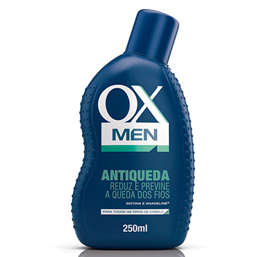 Shampoo Ox Men Antiqueda 250ml