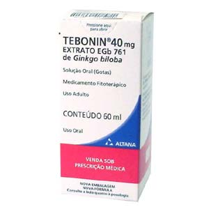 Tebonin 40 Mg Gotas 60 Ml