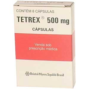 Tetrex 500 Mg 2 Env X 4 Cap