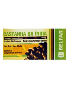 Castanha Da India 100mg C/60 Cpr Rev