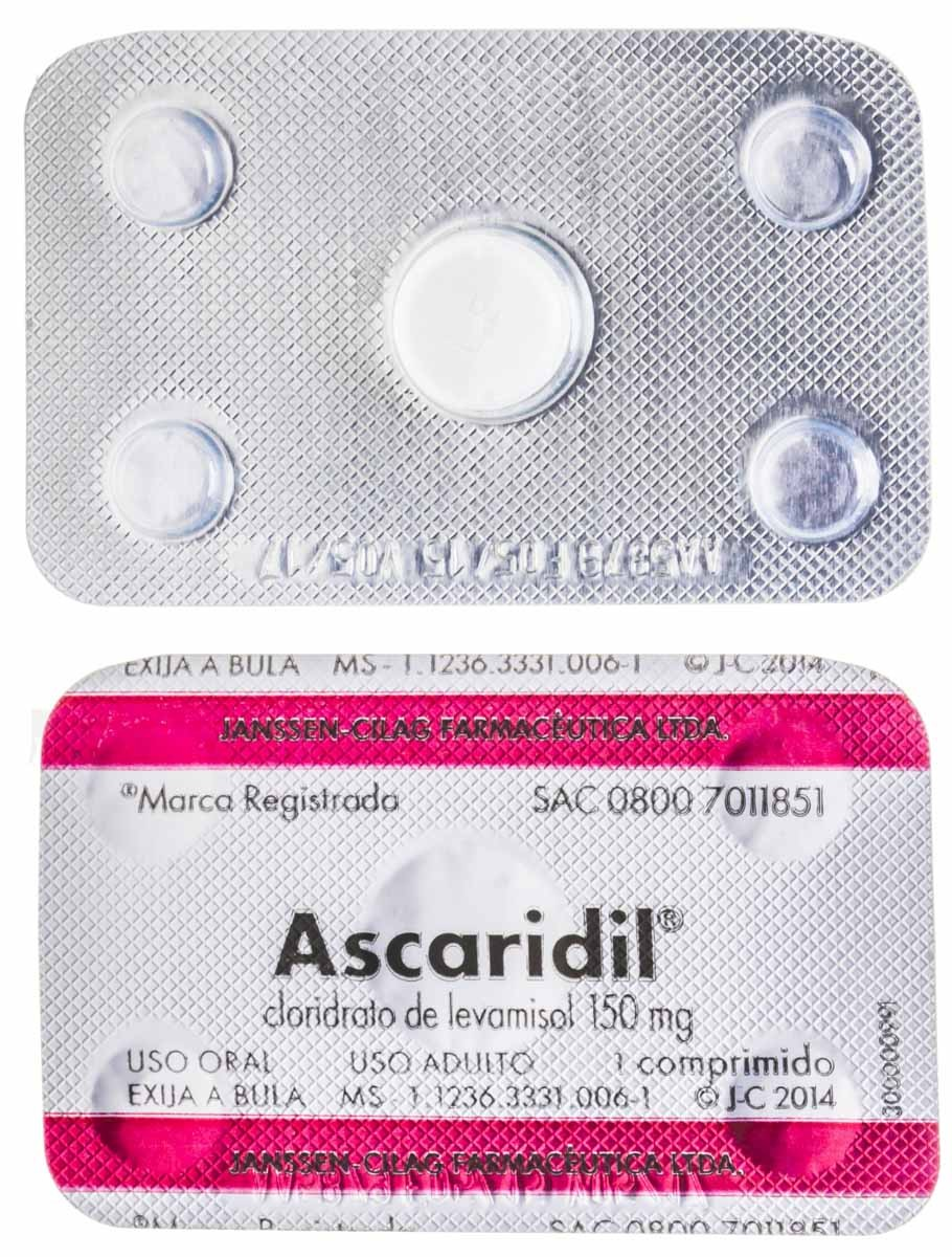 Ascaridil 150 Mg Adulto 1 Cpr