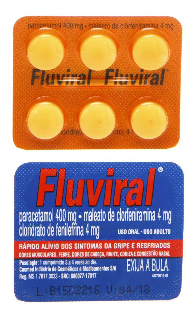 Fluviral Anti Gripal 1x6 Comprimidos