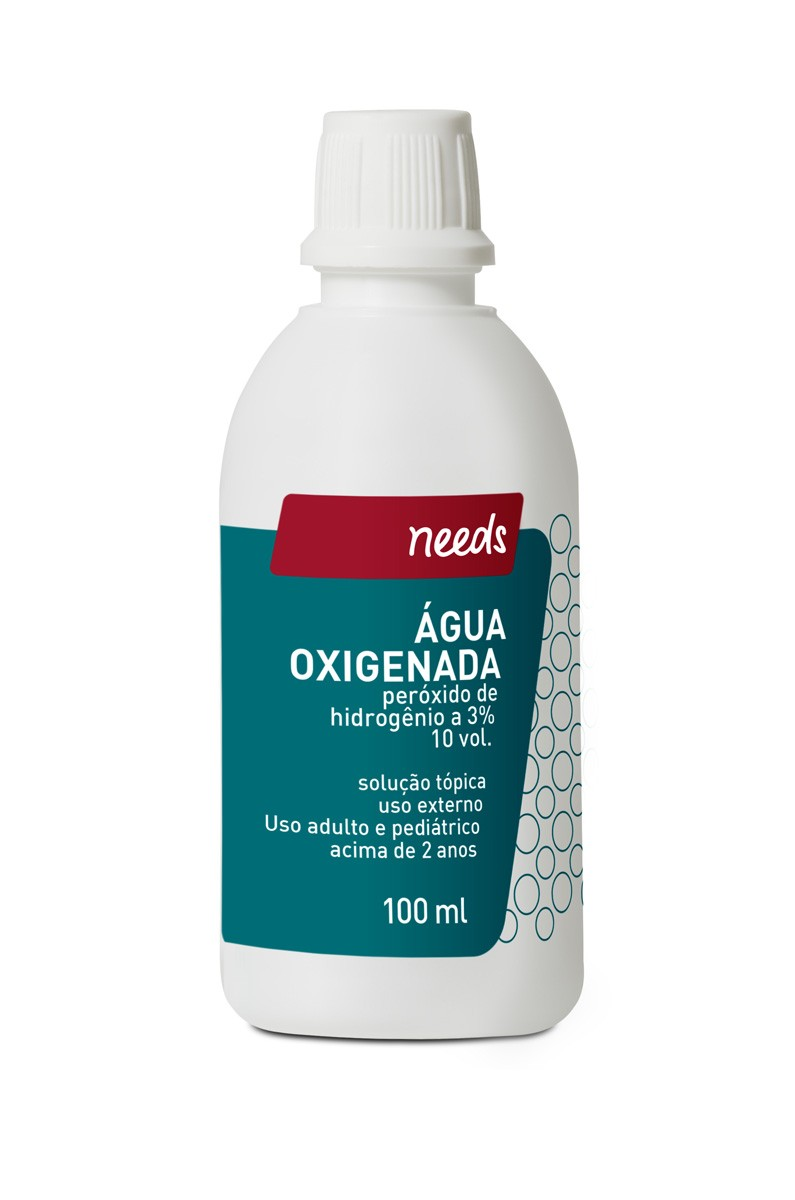 Needs Agua Oxigenada 10 Volumes 100 Ml