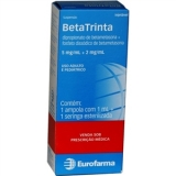 Betatrinta 5 + 2 Mg Injetável 1 Amp X 1 Ml + Ser
