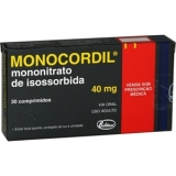 Monocordil 40 Mg 30 Cprs