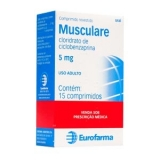 Musculare 5 Mg 15 Cprs