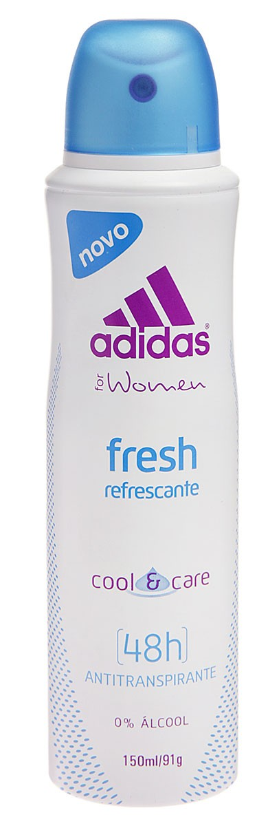 Adidas Desodorante Aerosol Anti-Transparente Feminino Fresh Escape Com 150 Ml