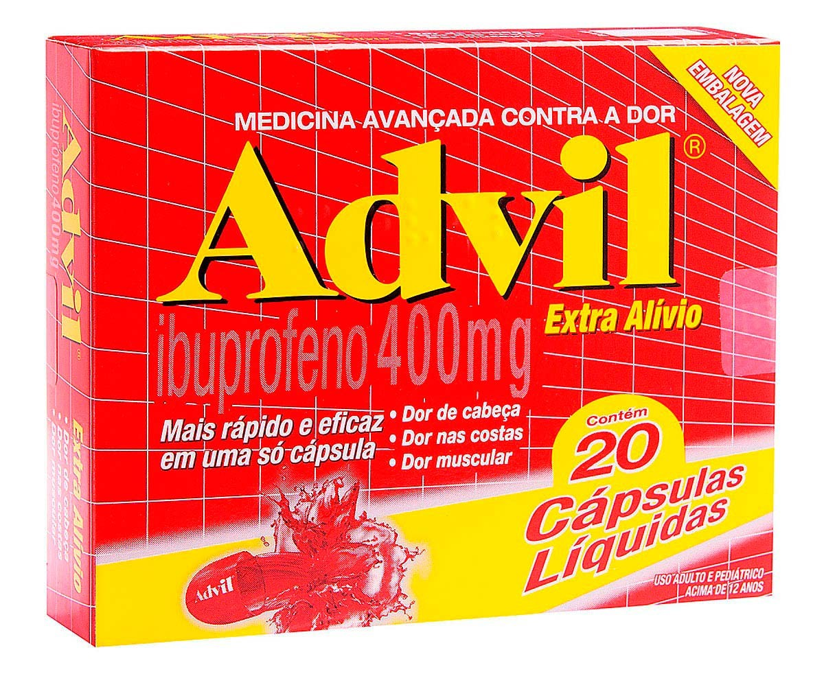 Advil 400 Mg Cx C/2 Bl X 10 Cps