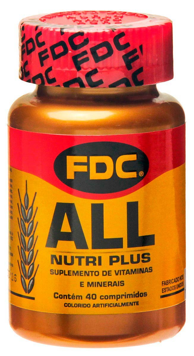 All Nutri Plus - Fdc - 40 Cápsulas
