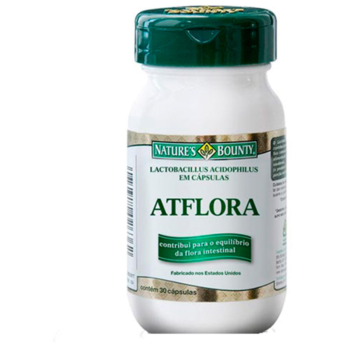 Atflora - Natures Bounty - 30 Cápsulas 470mg