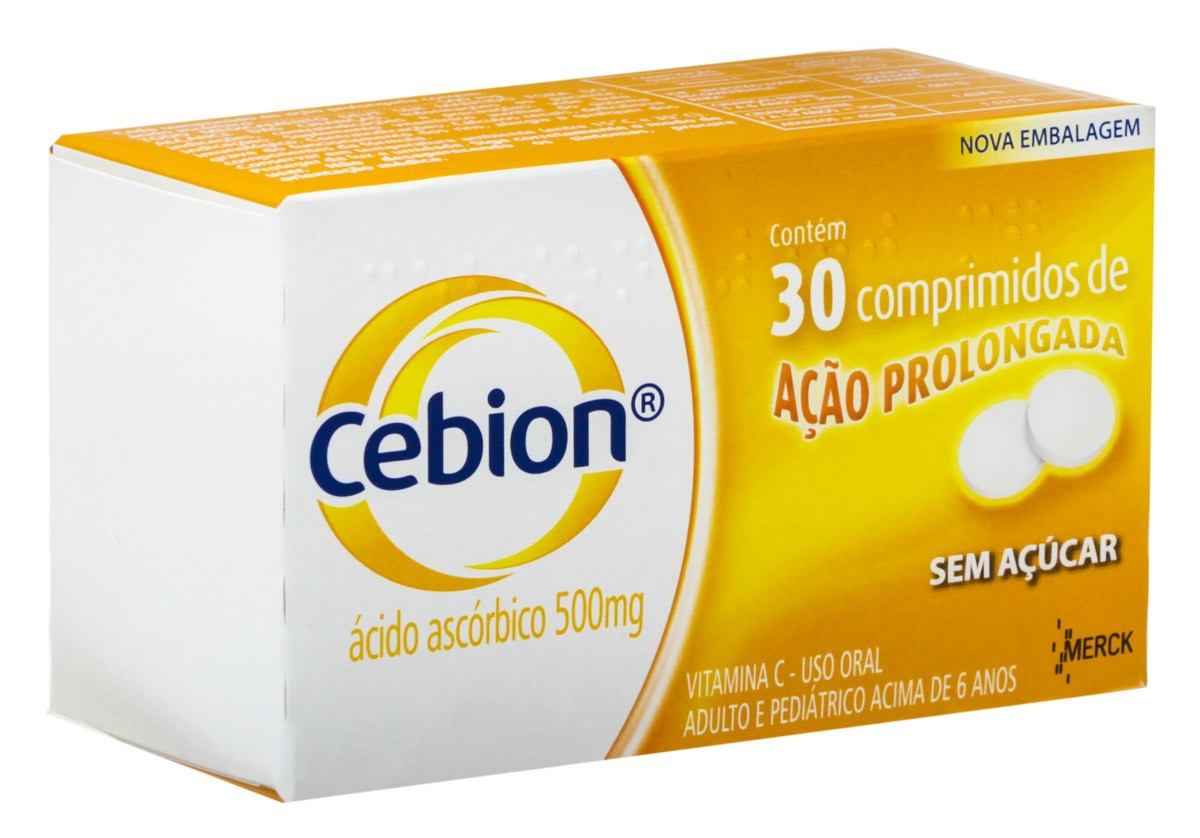 Cebion 500 Mg 30 Cprs