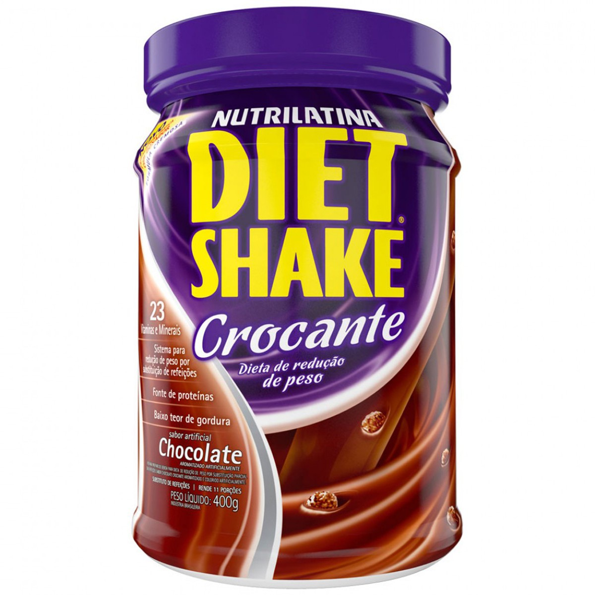 Diet Shake 400g Crocante Chocolate