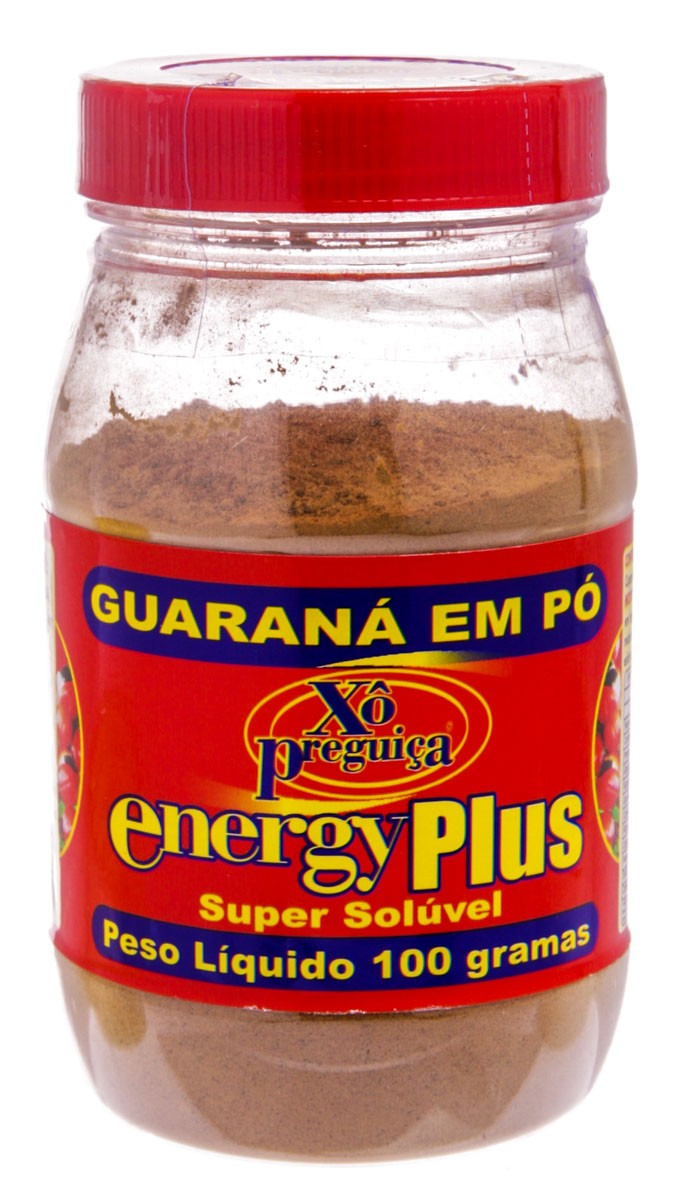 Energy Plus Guarana Com 100 G