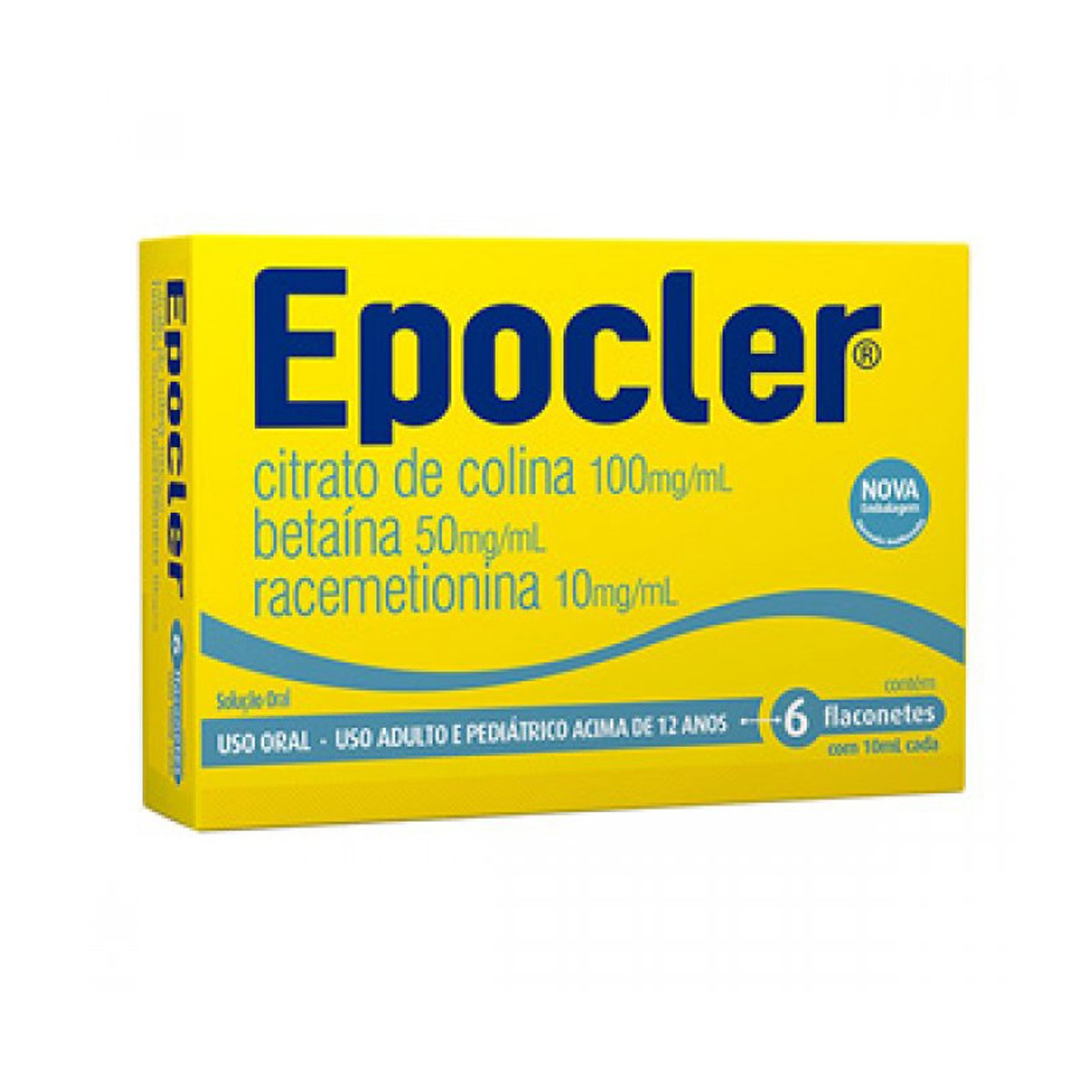 Epocler (100+50+10)mg/Ml Sol Or 6 Flac Plas X 10 Ml