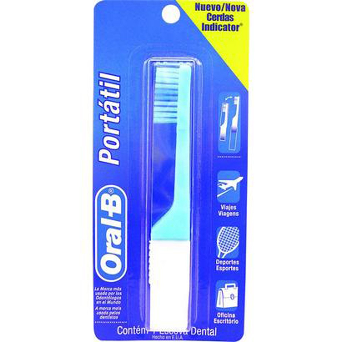 Escova Dental Oral-B Portatil