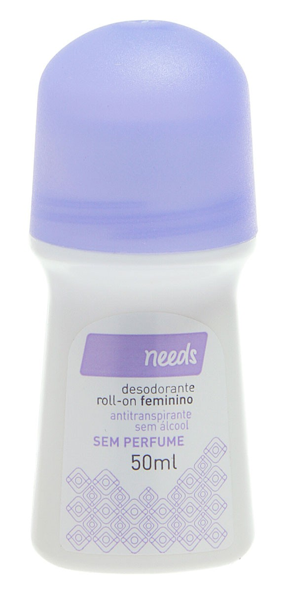 Needs Desodorante Roll On Feminino Sem Perfume 50ml