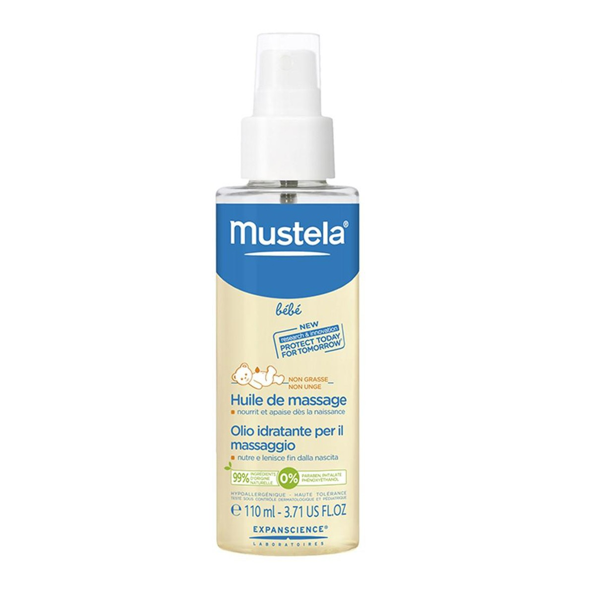 Oleo Mustela Massagem 100ml