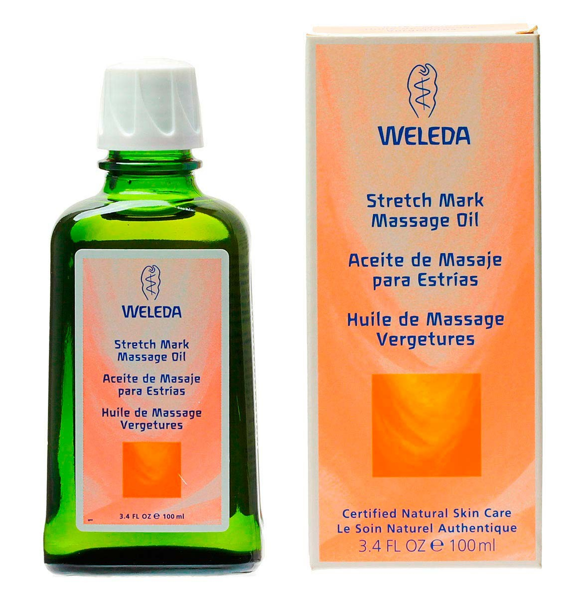 Oleo Weleda Preventivo Para Estrias 100ml