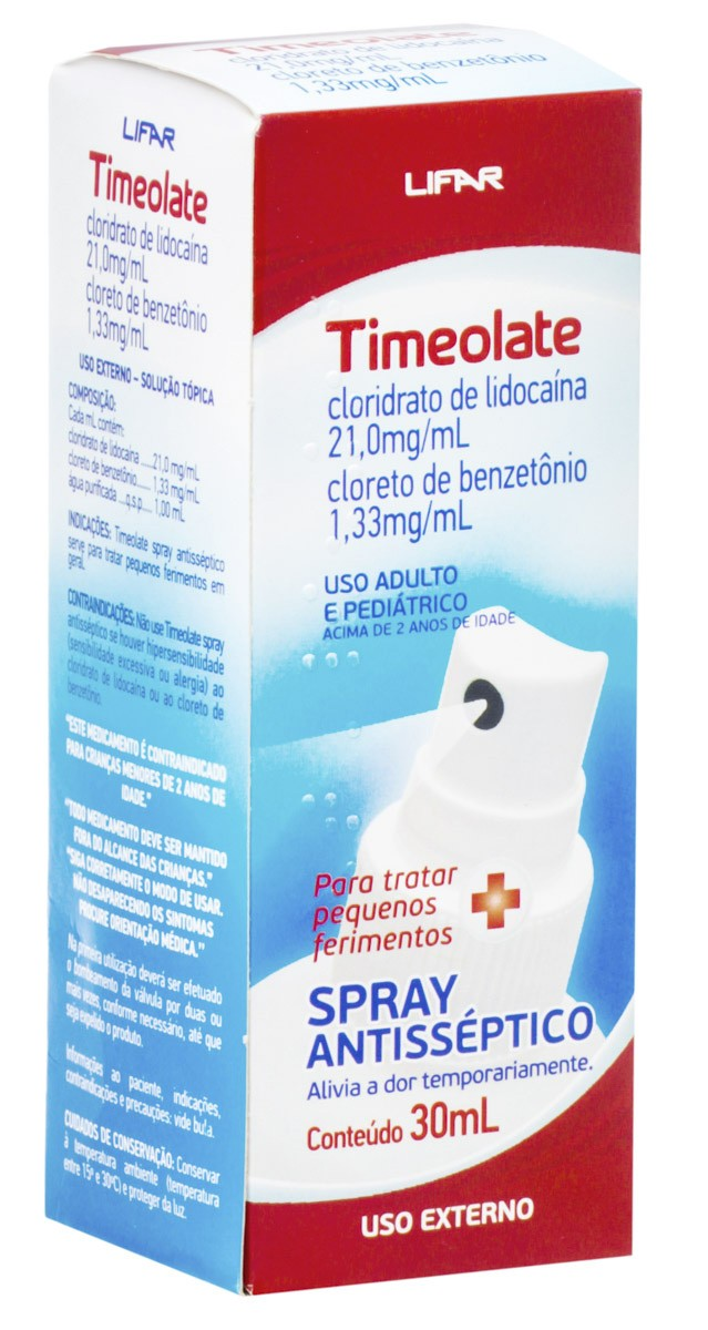 Timeolate Antiseptico Spray 30ml