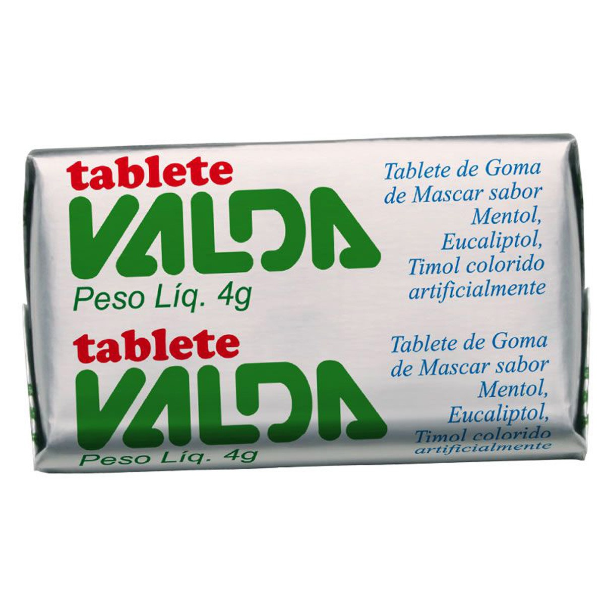 Valda Chiclete Tablete 4 G
