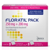 Floratil Pack 200 + 250 Mg + 1,25g 3 Sache X 1g + 3