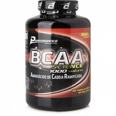 Bcaa Science 1000 - Performance - 300 Cápsulas G