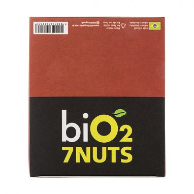 Bio2 7 Nuts, Cranberry - Bio2 - 12 Barras 25g