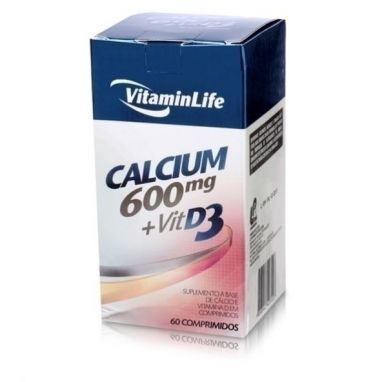 Calcium 600mg + Vitamin D 30 Caps
