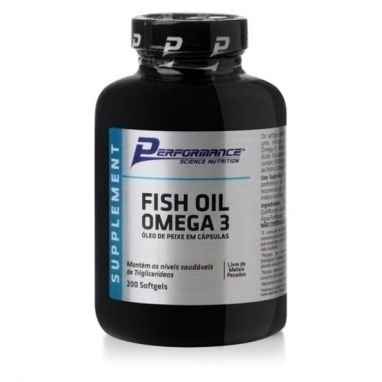 Fish Oil Ômega 3 1000mg 100 Caps