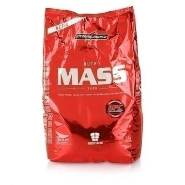 Nutri Mass 7000 Bag, Chocolate - Integralmedica - 1500g